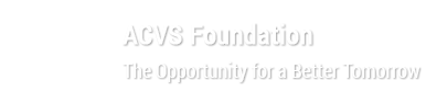 ACVS Foundation - The Opportunity for a Better Tomorrow